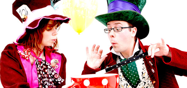 Magic Hatter Birthdays - Mesmerising Magic